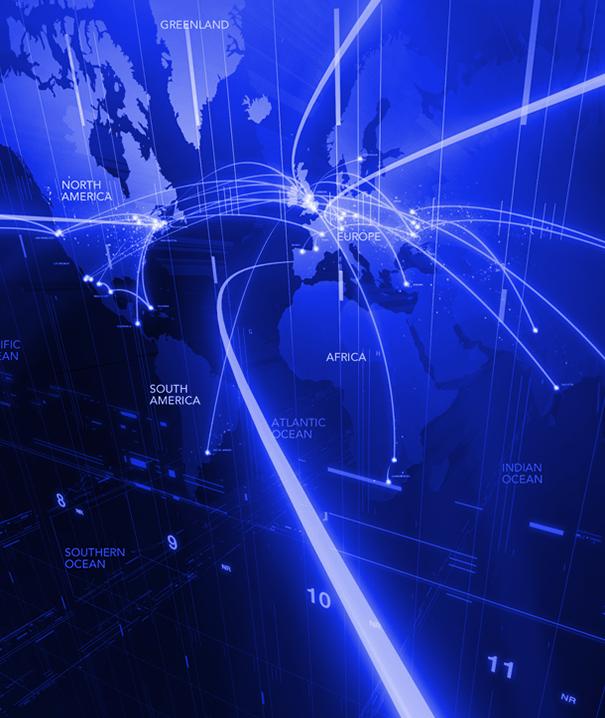 world map sowing increasing customer base